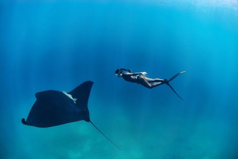 Hanli Prinsloo swimming